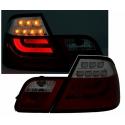 BMW E46 coupe (98-03) LED tail lights, clear & smoke