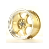 Alumīnija diski Japan Racing JR12 15x7,5 ET26 4x100/114 Gold
