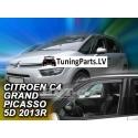 Citroen C4 Picasso / Grand Picasso (13-18) logu deflektori, 2 gab.