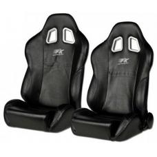 """Krēsls """"New York"""", melns, regulējams, labais + kreisais"""