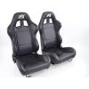 """Krēsls """"Boston"""", melns, regulējams + sliedes, labais + kreisais"""