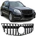 Mercedes GLK X204 (12-15) priekšējā reste, melna/glancēta