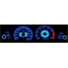 Mazda 323 S4 BG (89-94) plazmas spidometri 0-240km/h, balti