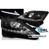 Lexus IS (06-13) priekšējie LED Dayline lukturi, melni, DRL