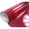Pašlīmējošā plēve sarkana holo/glancēta 1.52x30m
