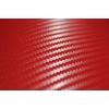Karbona 3D pašlīmējošā plēve sarkana, 0.5x2m