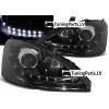 Ford Focus (01-04) priekšējie LED Dayline lukturi, melni