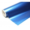 Pašlīmējošā plēve metāliska Pērļu zila/glancēta 0.5x2m