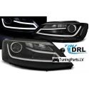 VW Jeta (11-...) head lights, LED dayline