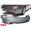 BMW F30 (11-15) aizmugurējais bamperis ar PDC, M-pack
