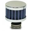 Kartera ventilācijas filtrs, 12mm ieeja, zils