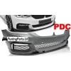 BMW G30 G31 (17- ...) priekšējais bamperis ar PDC, M-performance style