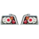 BMW E36 sedan LED tail lights, black