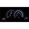 Opel Corsa C;Tigra Twin Top; Meriva plazmas spidometri 0-220km/h, 7000 RPM, melni