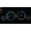 BMW E38; E39; E53 X5 plazmas spidometri 20-240km/h, melni