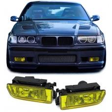 BMW E36 miglas lukturi, dzelteni