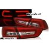Mitsubishi Lancer 8 Sedan (08-11) aizmugurējie LED lukturi, sarkani