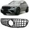 Mercedes GLC X253 (15-...) priekšējā reste, melna/glancēta