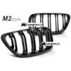 BMW F22 / F23 priekšējās restes M2 Style, melnas, glancētas