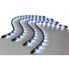 LED apgaismojuma virtenes 4x60cm baltas ar vairākām funkcijām