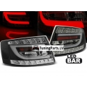 Audi A6 C6 (04-08) sedan LED tail lights, black