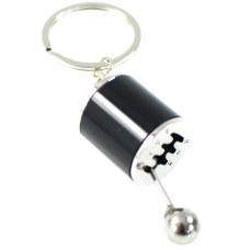 Atslēgu piekariņš, ātrumārslēgs / melns