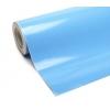 Pašlīmējošā plēve debesu zils/glancēta 0.5x2m