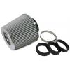 Tenzo-r gaisa filtrs 60mm-76mm ieeja, sudraba