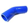 45 grādu silikona līkums, ieeja/izeja 89mm