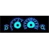 Ford Focus I (98-04) plazmas spidometri 20-220km/h, dīzelis, balti