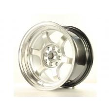 Alumīnija diski Japan Racing JR12 15x8,5 ET13 4x100/114 HyperSilver