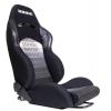 """Krēsls """"RAPID BRIDE"""", melns, regulējams + sliedes"""