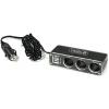 USB lādētājs sadalītājs / adapteris 12V, 3x 12v un 2x USB ports