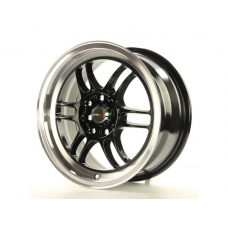 Alumīnija diski Japan Racing JR7 15x7 ET40 4x100/114 Gloss Black