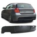 BMW 1ser. E81 E87 (04-13) M-Technik aizmugurējā bampera difuzors