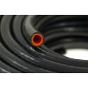 Vakuuma silikona truba 8mm, melna