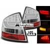Skoda Octavia (04-12) Sedana LED aizmugurējie lukturi, hromēti