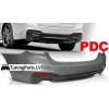 BMW G30 (17-...) aizmugurējais bamperis ar PDC, M-tech style