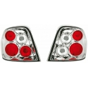 Audi A3 8P (03-08) tail lights, chrome