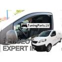 Citroen Jumpy / Peugeot Expert / Toyota Proace (16-...) logu deflektori, 2 gab.