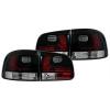 VW Touareg (02-10) aizmugurējie LED lukturi, melni