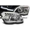 Mercedes-Benz GLK X204 (08-12) priekšējie LED Dayline lukturi, hromēti