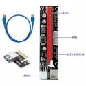 Riser 009v 4/6/15 pin USB raizers
