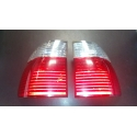 BMW E39 touring tail lights, clear & red used