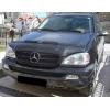 Mercedes Benz M-class W163 (01-05) motora pārsega aizsargs