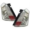 Suzuki Swift (05-10) aizmugurējie LED lukturi, hromēti