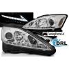 Lexus IS (06-13) priekšējie LED Dayline lukturi, hromēti, DRL