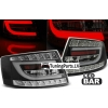 Audi A6 C6 (04-08) LED aizmugurējie lukturi, melni, 7 PIN