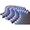 LED apgaismojuma virtenes 4x60cm dažādu krāsu ar vairākām funkcijām