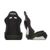 """Krēsls """"LOW MAX"""", melns, regulējams + sliedes"""